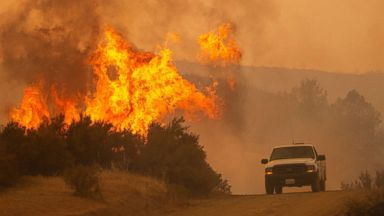 Fire danger growing out West as East expecting more rain