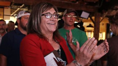 Progressive Christine Hallquist becomes 1st transgender gubernatorial nominee for major party