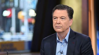 James Comey responds to critics like President Trump in live interview
