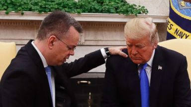 Pastor Andrew Brunson says he's probably 'one of the most hated men in Turkey' where he was detained