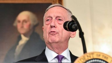 Pentagon chief Mattis defends his reversal on Space Force