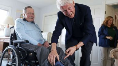Partisan divide grows sharper in US, but Bush-Clinton friendship endures