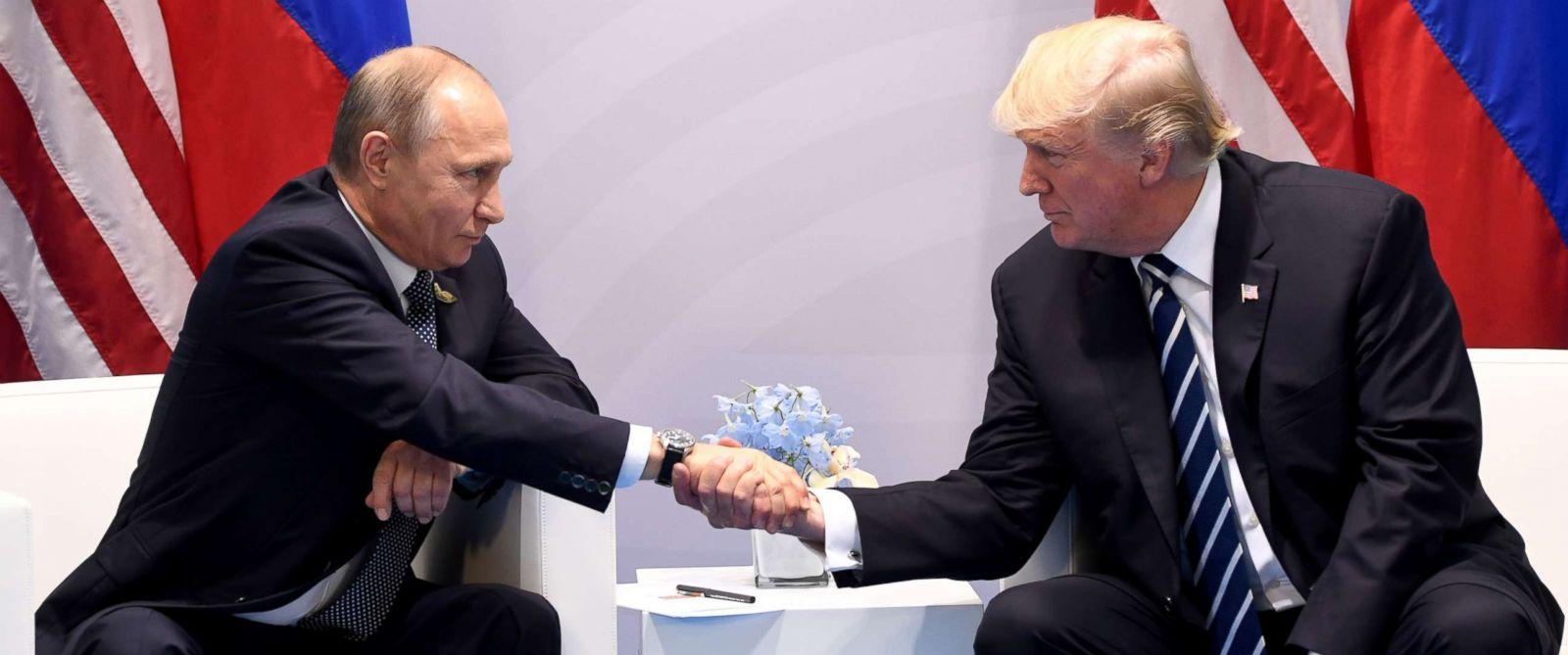 Trump über Putin