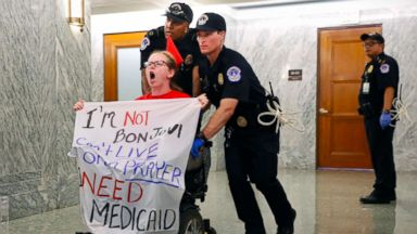 181 protesters arrested after disrupting Graham-Cassidy bill hearing