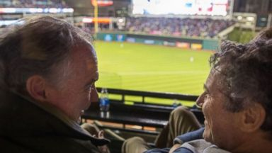 Tim Kaine, Sherrod Brown Have a Guys' Night Out at the World Series
