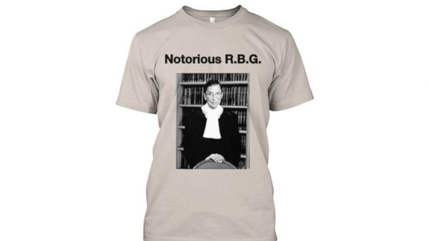 5fdbc622e02f This t-shirt featuring Supreme Court Justice Ruth Bader Ginsburg is  available online. (NotoriousRBG/Tumblr)