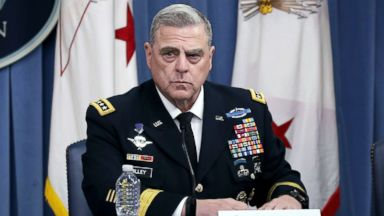 Trump nominates Army Gen. Mark Milley as next chairman of the Joint Chiefs of Staff