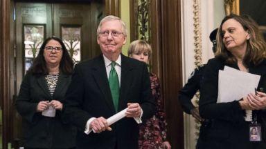 Senate leaders reach sweeping spending deal