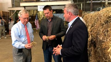 Surprising ally, Sen. Mitch McConnell, pushes for farm bill that legalizes hemp