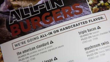 House passes rollback of Obama-era menu labeling rules