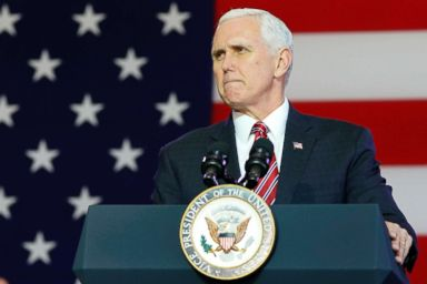 Vice President Pence departs for South America trip in Trump's place