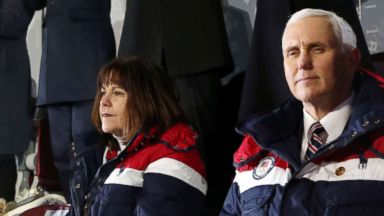 Pence not standing during Olympics opening ceremony draws social media debate