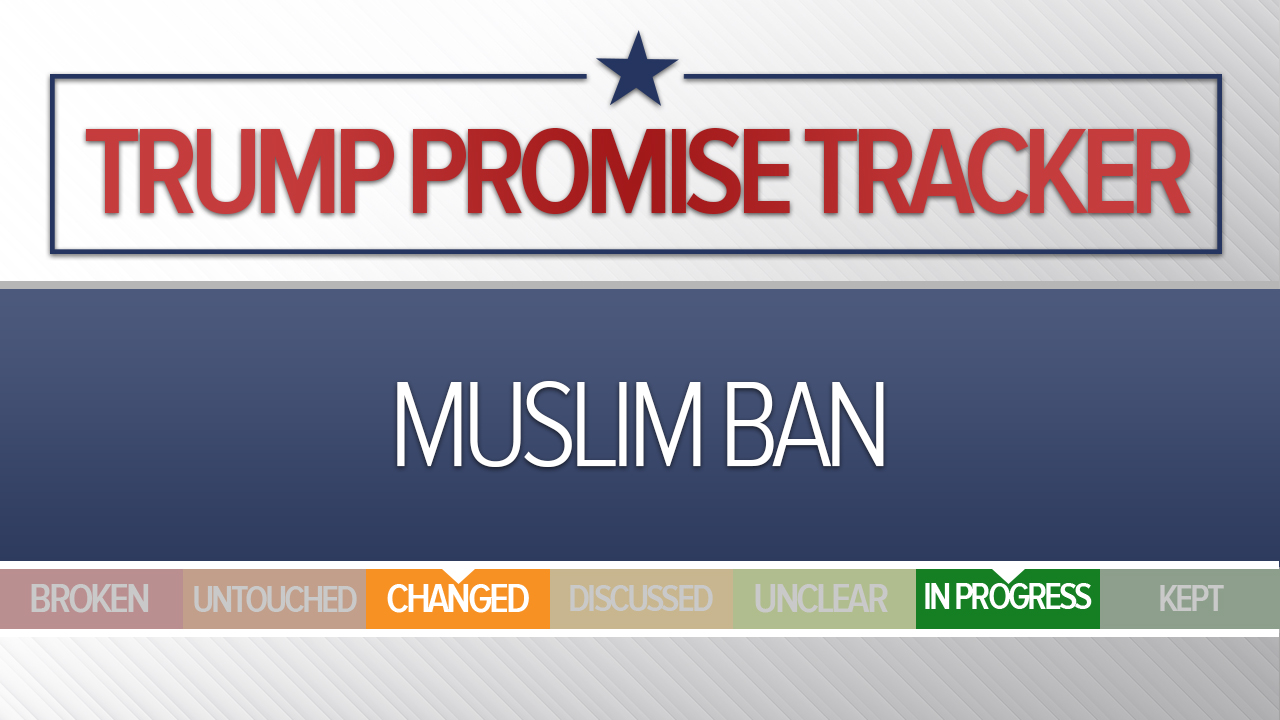 Donald Trump Promise Tracker Where His Pledges Stand At The
