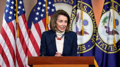 'Start Here': Trump postpones Pelosi's trip, Rudy Giuliani shifts collusion story, a Women's March controversy. What you need to know to start your day.