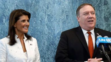 Pompeo, Haley call out China, Russia for helping North Korea violate sanctions