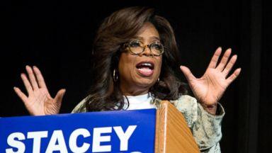 Oprah goes door-to-door to campaign for Georgia candidate
