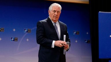 Tillerson ends Europe trip after wave of rebukes on Trump positions