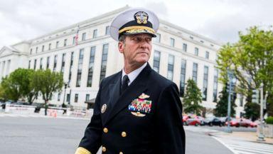 Secret Service disputes allegation against Rear Adm. Ronny Jackson