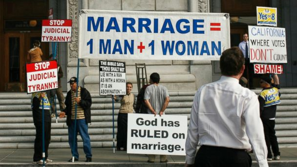 We ve heard it all before: Gay marriage will ruin the institution and sanctity of marriage, right