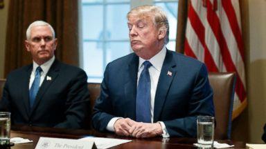 Trump still mulling Syria response as Democrats blast tweets