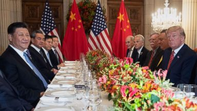 Trump downplays China tensions day after stock market plummets over trade fears