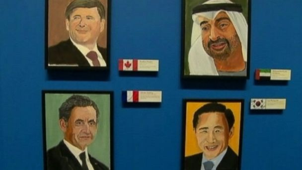 Presidential 2nd Acts From Bush S Painting To Harry