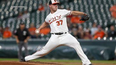 Orioles' Braille jersey praised by blind ballplayer