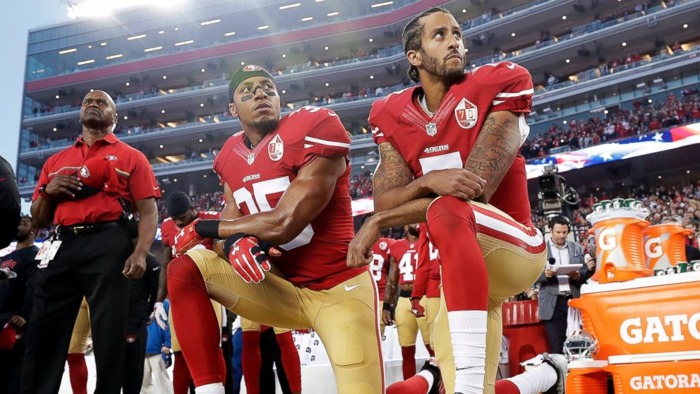 4e4e703bc Players across the NFL wasted no time in reacting to President Donald  Trump's condemnation Friday night of those protesting the treatment of  minorities in ...