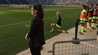 US Soccer Star Joins Kaepernick in National Anthem Protest