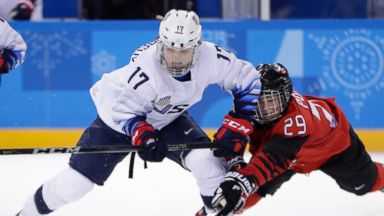 Lamoureux sisters had sights set only on women's hockey gold against Canada