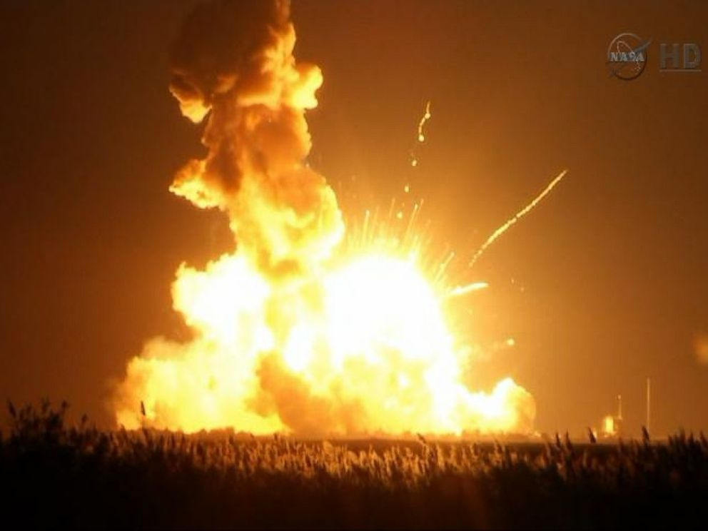 rocket explosion probers to begin sifting through debris