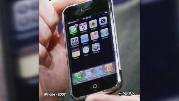 iphone through the years technology and science news abc news 7734