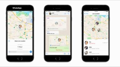 WhatsApp's 'Live Location' allows you to track yourself