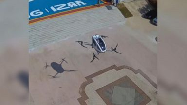 World's first passenger drone takes flight