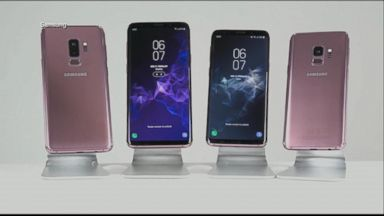 Samsung unveils Galaxy S9 and S9 Plus smartphones