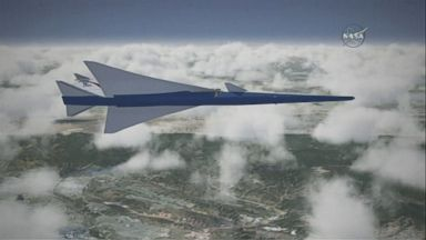 NASA unveils plan for quieter supersonic aircraft