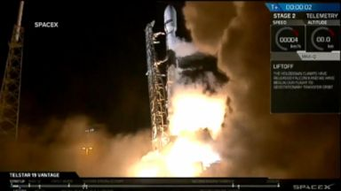 SpaceX successfully launches massive commercial satellite
