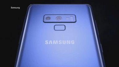 Samsung unveils Galaxy Note 9