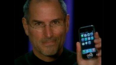 Steve Jobs talks iPhone launch in 2007