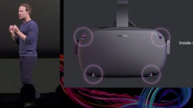 Facebook introduces new virtual reality system