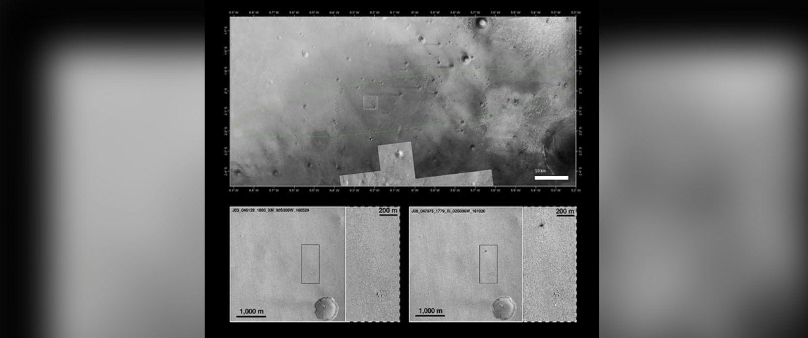 Schiaparelli Probe Likely Crash-Landed on Mars, Photos ...