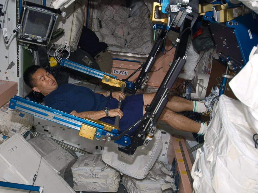 Image Gallery inside international space station