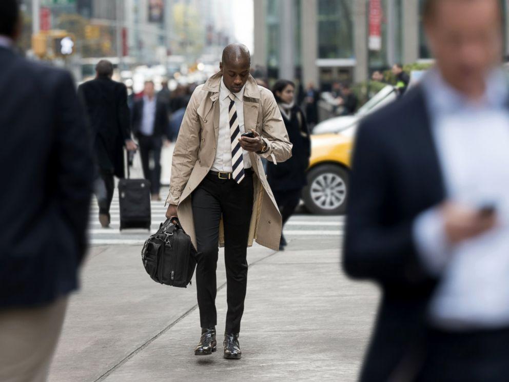 Smartphones in the Walk