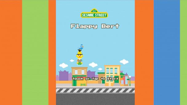 Missing Flappy Bird Try Sesame Streets Flappy Bert Abc News