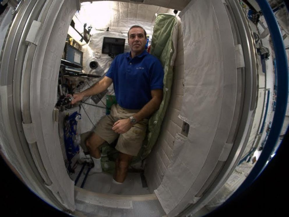 International Space Station Interior Sleeping Quarters ...