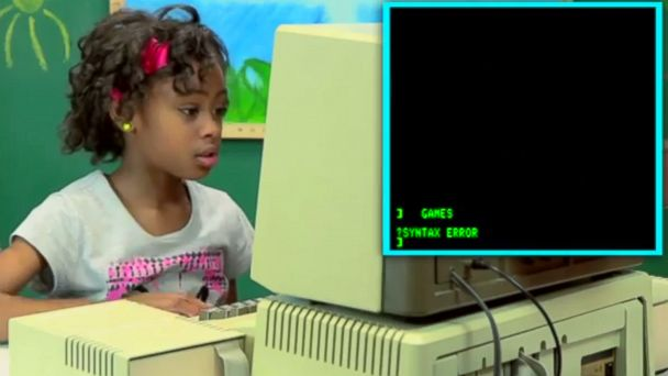 Hilarious Video: Kids React to Old Computers - ABC News
