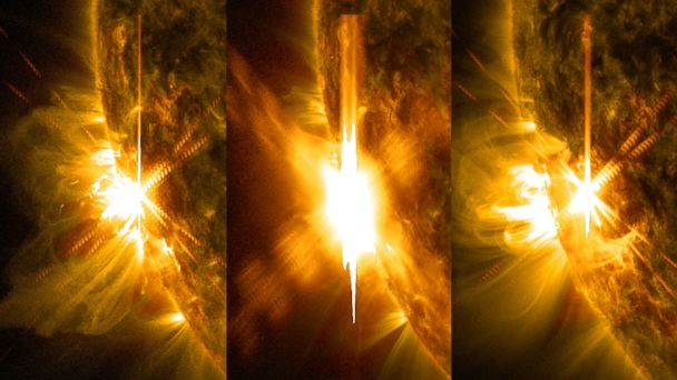 Solar Flares Disrupt Communications on Earth, Could Send ...