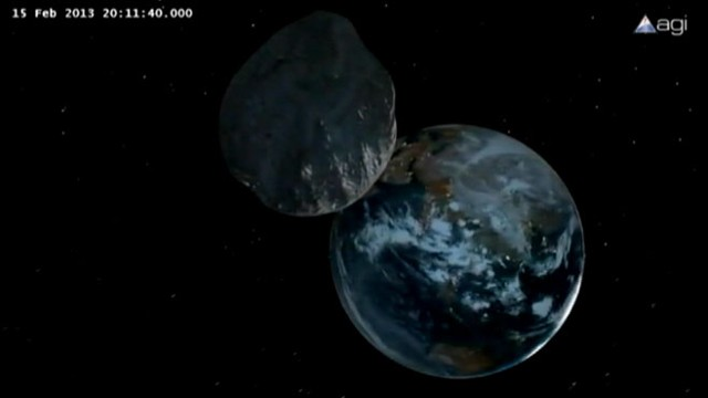Asteroid 2012 DA14 Passes Earth Video - ABC News