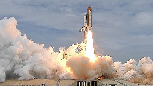 Space Shuttle Atlantis Final Flight Launches on Florida ...