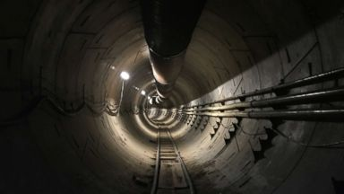 Elon Musk takes 1st steps to build futuristic underground tunnel in LA